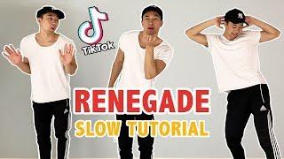 Renegade Tik Tok Tutorial (K Camp - Lottery)   Step By Step Dance Tutorial