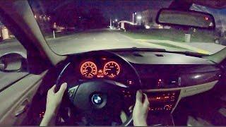 [WR Magazine] 2006 BMW 325i 6MT - POV Night Drive (Binaural Audio)