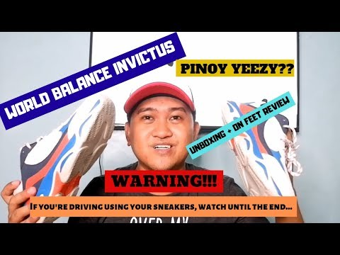 PINOY YEEZY?? World Balance Invictus On-Feet Review (IMPORTANT: Watch until the end!)
