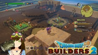 Dragon Quest Builders - Using our keys & the town is