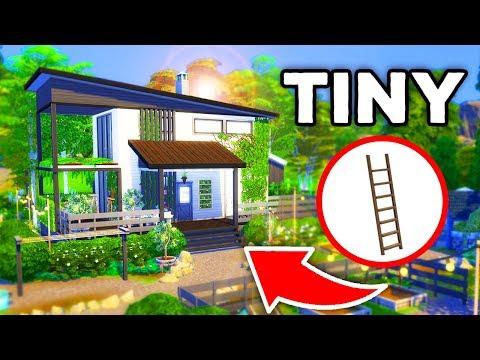 TINY ECO-FARM HOME! [ The Sims 4 ]