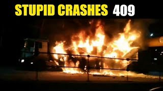 Stupid driving mistakes 409 (October 2019 English subtitles)