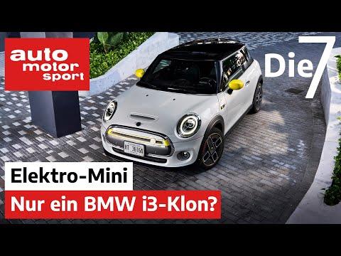 Nur ein BMW i3-Klon? 7 Fakten zum neuen Mini Cooper SE | auto motor und sport