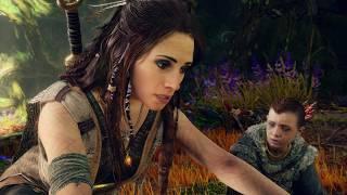 God of War 4 - Meeting Freya The Goddess (Odin's Wife) God of War 2018 [PS4 PRO]
