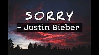 justin bieber sorry lyrics video whatsapp status - TH-Clip
