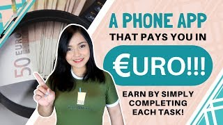 Earn Euros Using this App on Your Phone! | Micro Freelancing | English Subtitles