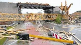 preview picture of video 'Großenhain am 25. 05. 2010 .... 1 Tag nach dem Tornado'