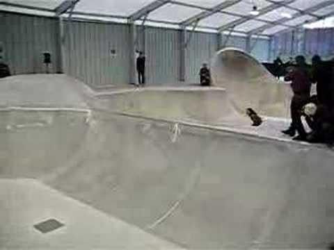 Sammy Baca Altamont Démo Skatepark Paris demo skateboard