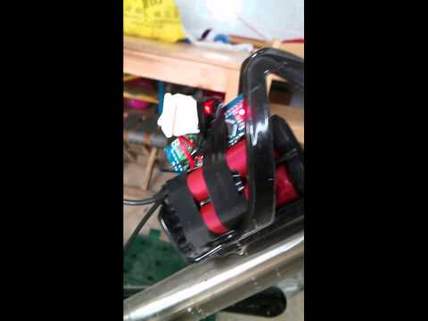 DIY electronic bicycle shifter