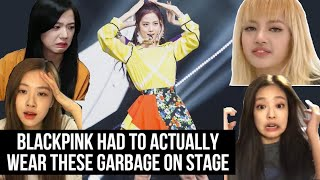 BLACKPINK's Top 7 Ugliest Stage Outfits | Blackpink outfits