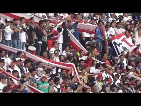 """""""MUERTE BLANCA LDU VS EL NACIONAL"""" Barra: Muerte Blanca • Club: LDU"""