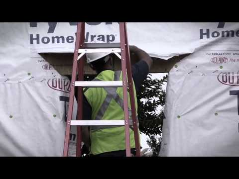 ZIP System Sheathing and Tape Vs. Housewrap Installation Challenge