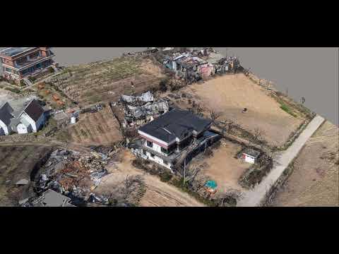 通過無人機空拍形成3D實像掌控受災地區財損