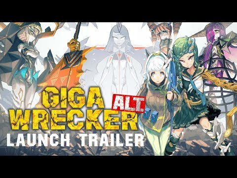 GIGA WRECKER ALT. - Launch Trailer thumbnail