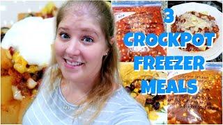 EASY CROCKPOT FREEZER MEALS | FAMILY FRIENDLY DINNER IDEAS
