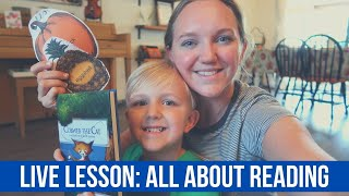 LIVE LESSON: ALL ABOUT READING    FINISHING KINDERGARTEN