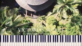 Cro   Victoria's Secret (Piano Tutorial + Sheets)