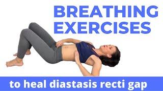 Diastasis Recti Breathing Exercises