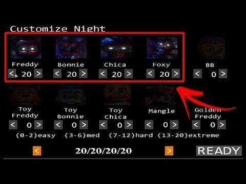 speededit) making Shadow animatronics custom night! - تنزيل يوتيوب