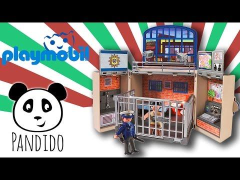 Playmobil Polizei deutsch City Action Polizeistation ausgepackt und angespielt