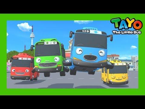 Tayo lagu pembukaan tema kompilasi l lagu untuk anak anak l hey tayo  l tayo bus kecil