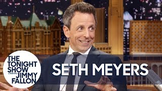 Seth Meyers Is Fully In Love With Rihanna