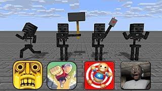 Monster School : BEST WITHER SKELETON MONTAGE - Minecraft Animation