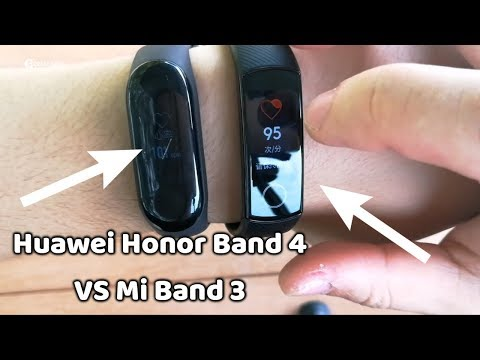 Huawei Honor Band 4 VS Mi Band 3