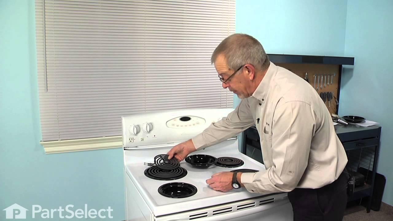 Replacing your Amana Range Drip Bowl - 6 Inch- Black