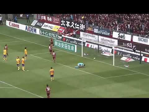 Le but d'Iniesta avec le Vissel Kobe