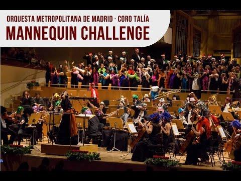 MANNEQUIN CHALLENGE EN EL AUDITORIO NACIONAL