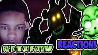 Game Theory: FNAF, The Cult of Glitchtrap (FNAF VR Curse of Dreadbear DLC) REACTION!