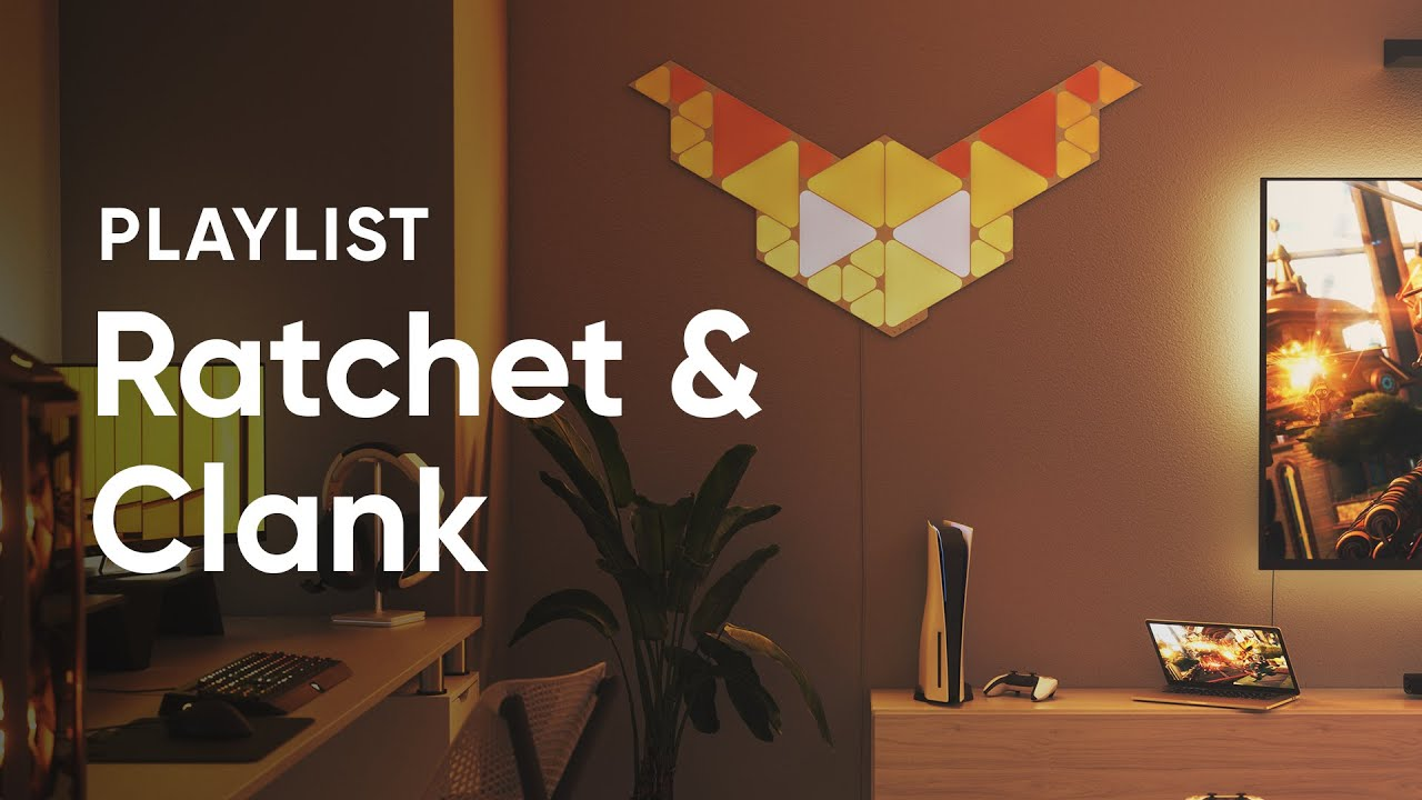 Photoshop-Battle: Ratchet & Clank x Nanoleaf