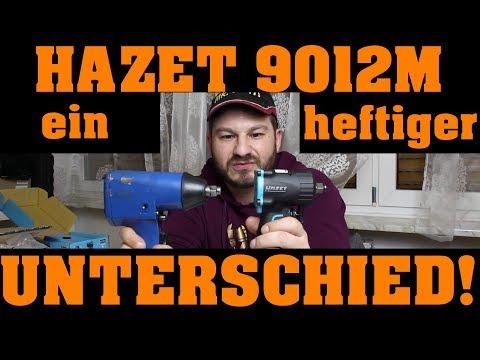 HAZET 9012 M 💪 | DRUCKLUFTSCHLAGSCHRAUBER - ich bin begeistert! 😎🔧😎