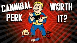 Fallout 4 - Cannibal Perk - Is It Worth It?