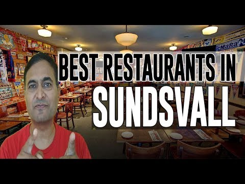 Download Best Restaurants and Places to Eat in Sundsvall , Sweden HD Mp4 3GP Video and MP3