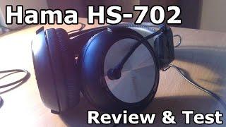 Review&Test slusalica Hama HS-702