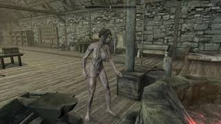 Realistic Female Tattoos UNP Fair Skin Skyrim SE Xbox One Mods
