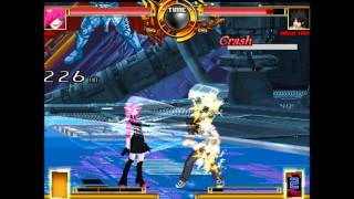 Mugen Tournament AI 9 Lucy vs Touma Kamijo Fight 16