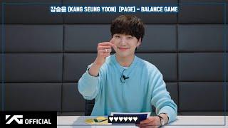 강승윤(KANG SEUNG YOON) [PAGE] BALANCE GAME