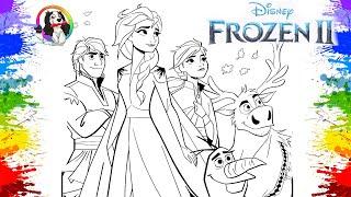 Filme De Animação Desenho Disney Frozen 2 Movie Em Português | Дисней замороженный 2 | Animation