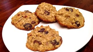 Oatmeal Cookies With Dried Fruits And Nuts / How-To, Dessert & Snack Recipes