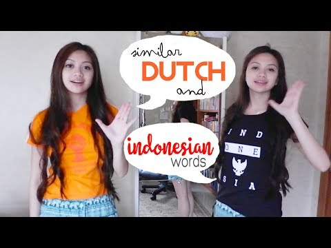 Similar Dutch And Indonesian Words