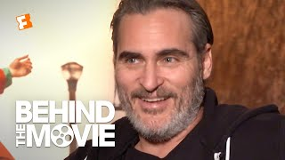 Joaquin Phoenix Talks Crafting the Joker's Bloodcurdling Laugh | 'Joker' Interview | Fandango