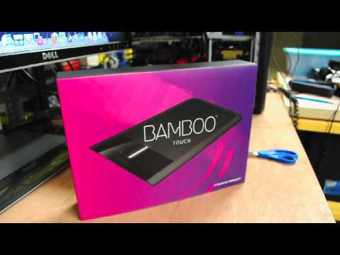 Unboxing the Wacom Bamboo Touch