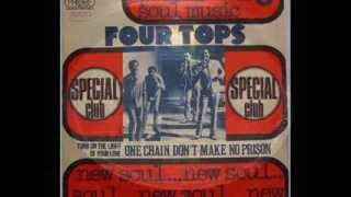 THE FOUR TOPS ~ ONE CHAIN  DON´T MAKE NO PRISON  LIVE 1974