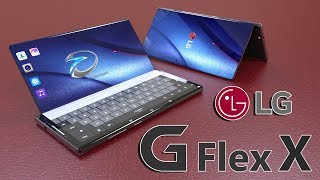 LG G Flex X Foldable Smartphone Concept Introduction,based on Official Patent Documents