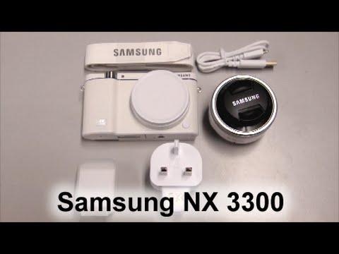Samsung NX 3300 16-50mm kit lens + NX Bag White Unboxing