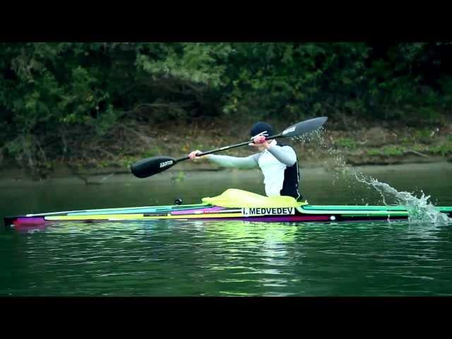Flatwater kayak training
