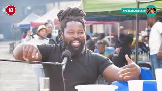 Big Zulu talking about Riky Rick haters on imali eningi